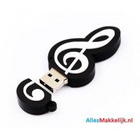 Bladmuziek usb stick 16gb