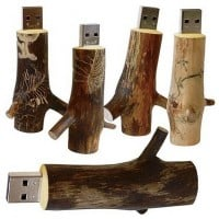 Boomtak hout usb stick 8gb