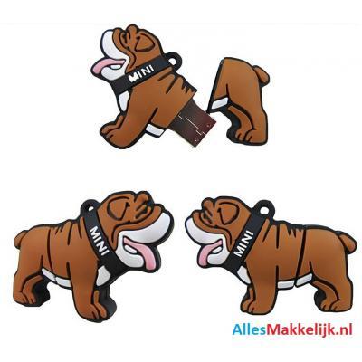 Bulldog hond usb stick 8gb