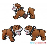 Bulldog hond usb stick 32gb