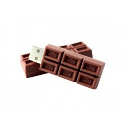 Chocolade usb stick. 16GB