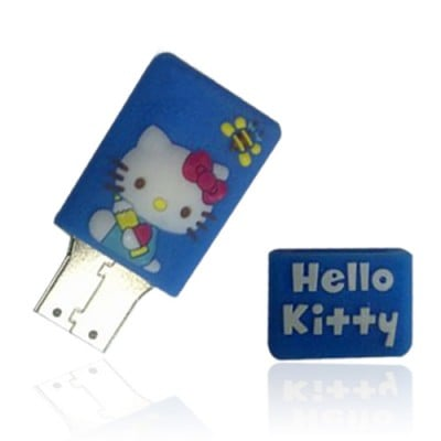 Cadeau verjaardag Hello Kitty usb stick. 2gb