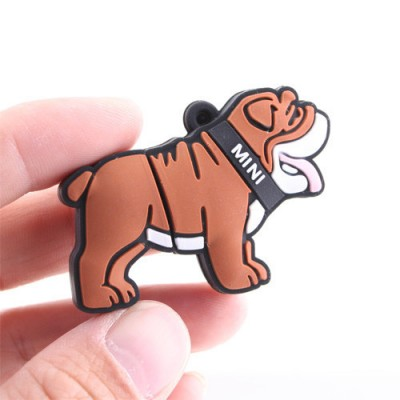 Bulldog hond usb stick 16gb