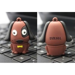 Hond usb stick bedrukken 16GB