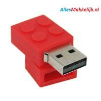 Lego usb stick. 32gb rood