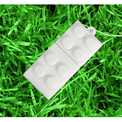 Wit kleur lego usb stick 16gb