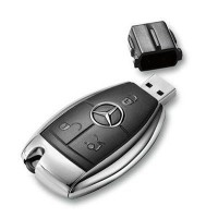 Mercedes autosleutel usb stick. 8gb