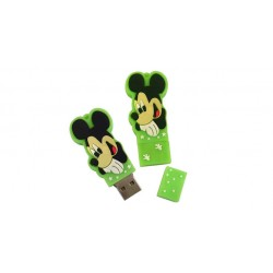 Mickey Mouse usb stick. 8gb. Kleur groen