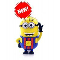 Minion Barcelona usb stick. 8gb
