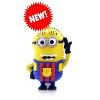 Minion Barcelona usb stick. 16gb