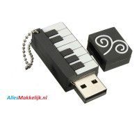 Piano usb stick. 8gb