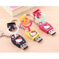 Hello Kitty slipper usb stick 4gb