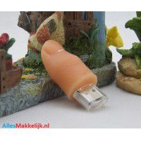 Vinger usb stick. 4gb