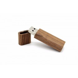 Walnoot hout usb stick 64GB
