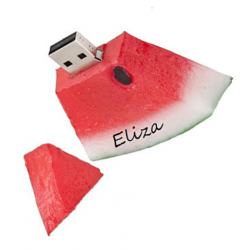 Watermeloen usb stick met naam 16GB