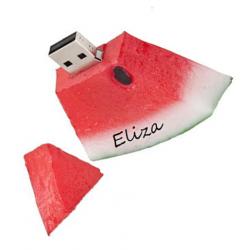 Watermeloen usb stick met naam 32GB