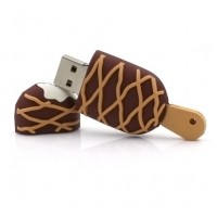 Chocostick ijs vorm usb stick 4gb