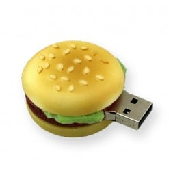 Hamburger usb stick. 8gb