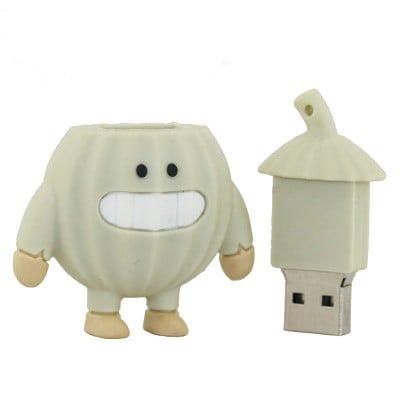 Knoflook usb stick