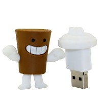 Koffie usb stick 64GB