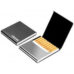 Luxe sigarettenkoker magnetische sluiting met naam  foto bedrukken