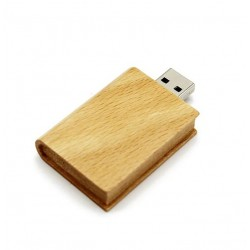 Hout boek usb stick 32gb