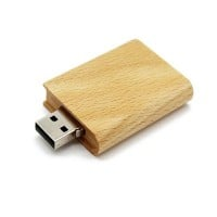 Hout boek usb stick 64gb