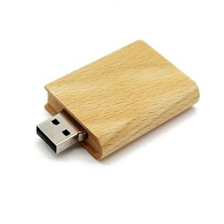 Hout boek usb stick 16gb