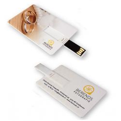Credit card usb stick logo bedrukken. Vanaf 5 stuks. 16GB