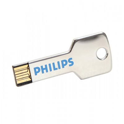 Sleutel usb stick met logo