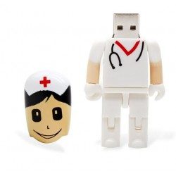 Zuster verpleegster vorm usb memory stick 16gb