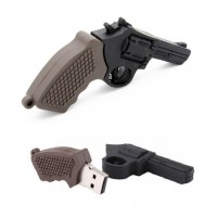 Revolver pistool usb stick. 16gb