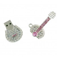 Diamant gitaar usb stick. 32gb