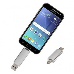 Android OTG usb stick zilver 32GB