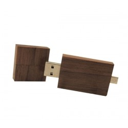 Hout walnoot Android usb stick 32GB