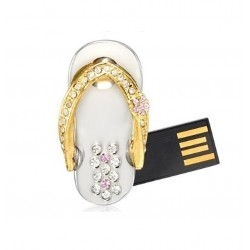 Sieraden Slipper usb stick. 16gb