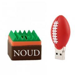 Rugbybal usb stick met naam 32GB