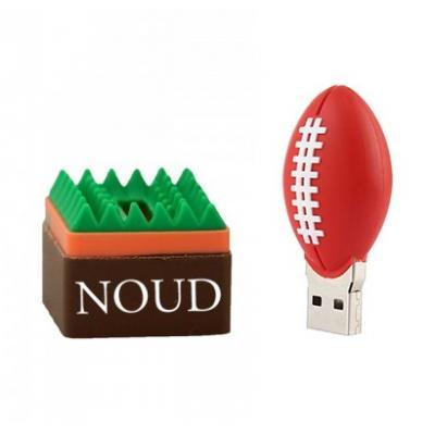 Rugbybal usb stick met naam