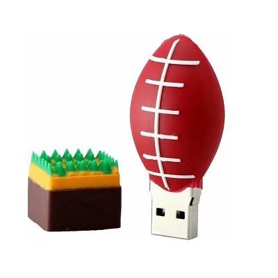 American football rugbybal usb stick