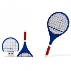 Tennis racket USB stick. 4GB