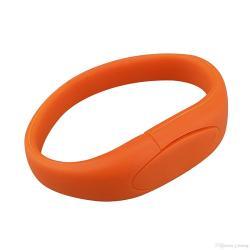 Kadotip Armband (oranje) usb stick voor verjaardag etc. 2gb