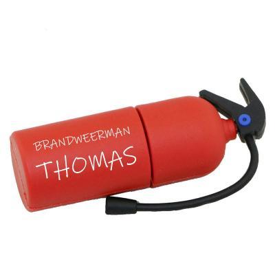 Brandblusser usb stick bedrukken 32GB