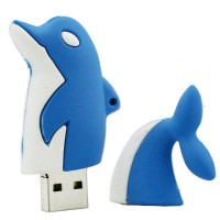 3.0 Dolfijn usb stick 128gb