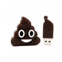 3.0 emoji poop usb stick 128GB