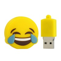 3.0 emoji smile usb stick 128GB