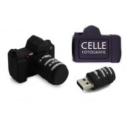 Fototoestel usb stick met naam 16GB