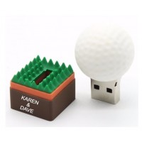 Golfbal usb stick bedrukken 16GB