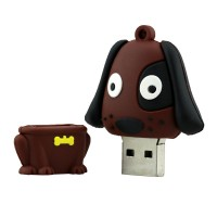 Hond vorm usb stick 4gb