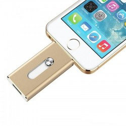 Iphone USB stick 64GB goud kleur