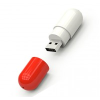 Capsule usb stick 8gb